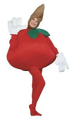 ADULT RED APPLE FRUIT HEALTHY SNACK FOOD COSTUME PA9502 (Apple Costumes)