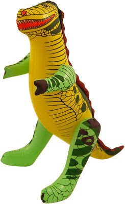 Inflatable Dinosaur 43cm Blow Up Toy T-Rex Godzilla Party Bag Kids Jurassic Park - Blow Up T Rex