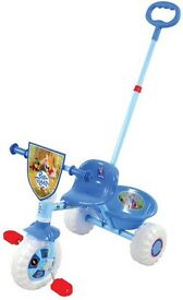 Peter rabbit push along trike