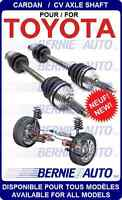 NEUFS CARDANS TOYOTA 4RUNNER TUNDRA LAND CRUISER FJ NEW AXLES