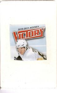 2010-11 UD Victory Hockey Set (250 cards - 50 RCs)