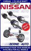 CARDANS NEW AXLES NISSAN MAXIMA ALTIMA VERSA MURANO ROGUE CUBE