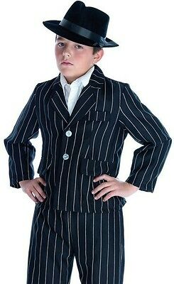 BOYS GANGSTER AL CAPONE BUGSY 20'S 30'S FANCY DRESS COSTUME](Al Capone Dress)