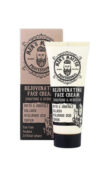 Antifalten Gesichtscreme Herren Männer Hyalorunsäure Collagen Antiglanz Creme