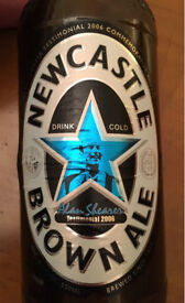Alan Shearer brown ale 2006 testimonial edition