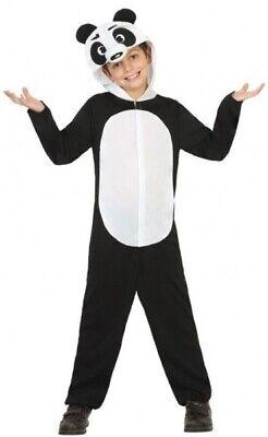 Jungen Mädchen Pandabär Chinesisches Neujahr Karneval Kostüm Kleid Outfit 3-12 ()
