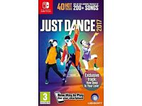 Just Dance 2017 Nintendo Switch new