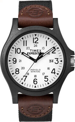 Timex Men's Expedition Metal Field 40mm Fabric |Brown| Sport Watch TW4B08200