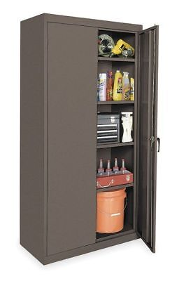 1uey1 Storage Cabinet Gray 78 In H 36 In W