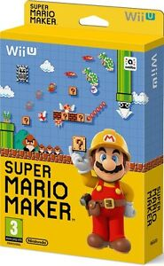 Mario Maker for Wii U (New)