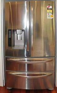 1 YEARS 4 DOOR LG Ice Water Dispenser French Door CAN DELIVERY Abbotsford Yarra Area Preview