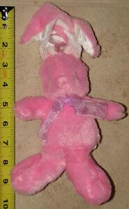 Pink Plush Bunny with velcro Ears London Ontario image 1