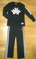 """ADIDAS"" Track Pants and Shirt, Size 10"