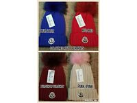Unisex Moncler's imported hats for sale..