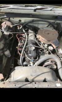 Holden VK Commodore Straight Six Engine and Gearbox