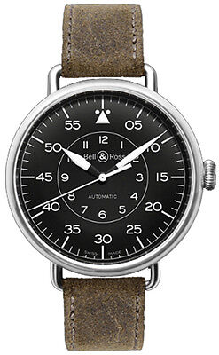 WW1-92-MILITARY | BELL & ROSS VINTAGE | AUTHENTIC & NEW AUTOMATIC MENS WATCH