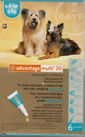Flea/Tick Medication:  2/$20 for dogs