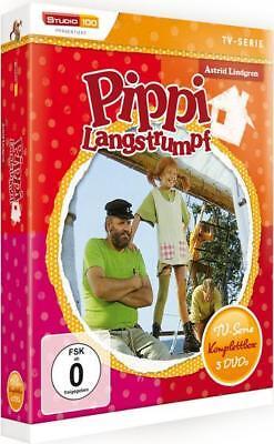Pippi Langstrumpf  - TV-Serien-Box  [5 DVDs]