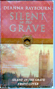 Silent In The Grave by Deanna Raybourn, mystery novel,