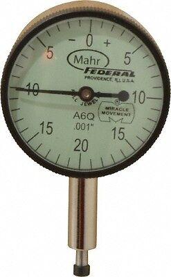 Mahr Federal 0.1 Inch Range 0-20-0 Dial Reading 0.001 Inch Graduation Dial ...