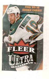 2009-10 UD Fleer Ultra Hockey Base Set (200 cards)