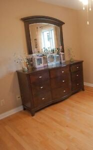 Almost New Dresser  with mirror