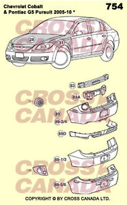 2005-2010 Colbalt & G5 Pursuit Body Replacement Panels London Ontario image 2