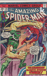 AMAZING SPIDERMAN COMIC BOOK 154