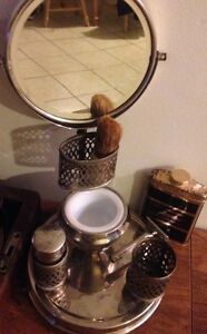 Collection of antique anvintage shaving accessories and stand  Peterborough Peterborough Area image 1
