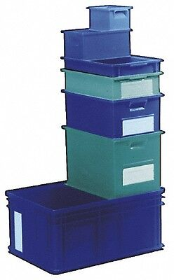 SSI Schaefer 1.17 Cu. Ft. Blue Polyethylene and Conductive PP Tote Container ...