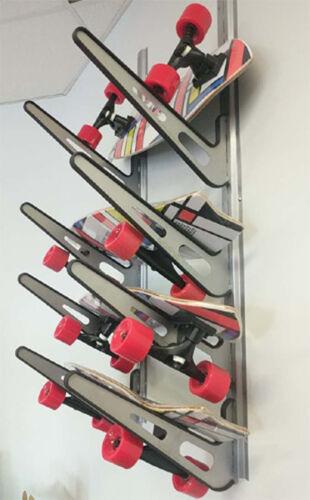 Metal Surf Storage Rack | Adjustable 4 Surfboard Wall Mount | Store Your Board