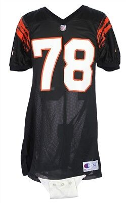 13babed58 Anthony Munoz 1991-1992 Game Worn Cincinnati Bengals Home Jersey Mears A5  HOF