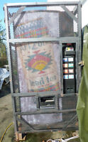 Cold Drink Vending machine - excellent condition, with security