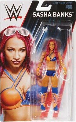 WWE Basic Wrestling Action Figure Sasha Banks Mattel