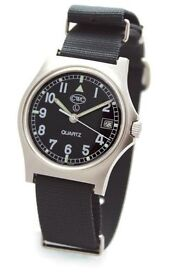 Cabot Watch Company CWC GS 2000 Military Watch With Date - New in Box