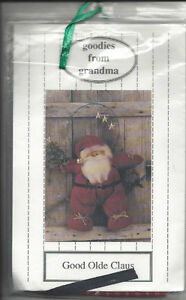 Santa wall hanging pattern / sewing