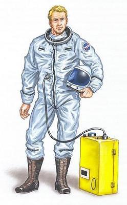 PLUS MODEL AL4005 Pilot X-15 Resin Figur in 1:48