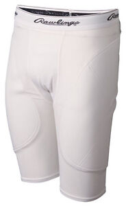 NEW Rawlings Mens Adult Baseball Softball Sliding Shorts Sliders - L/XL