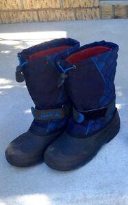 Bottes d'hiver Kamik enfants bleues West Island Greater Montréal image 1