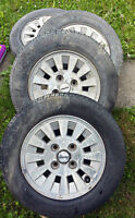 4 Mags & 4 Pirelli P500 tires Mazda