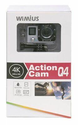 Camara de fotos Wimius Action Cam Q4 con maleta accesorios