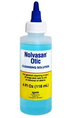 Nolvasan Otic Cleansing Solution, 4 oz - Nolvasan Otic Cleansing Solution