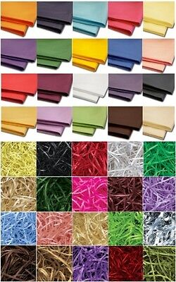 CHEAP LUXURY ACID FREE TISSUE PAPER SHEETS  or HAMPER SHREDDED ~ CHOOSE AMOUNT