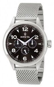 Invicta-Vintage-Series-Swiss-3-Eye-Day-Date-24hr-Mesh-Stainless-Steel-Watch-1220