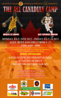 ALL CANADIAN BASKETBALL CAMP