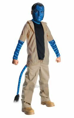 Avatar Jake Sully Boys Halloween Fancy Dress Costume Party Outfit Kids Licensed - Boys Sully Costume