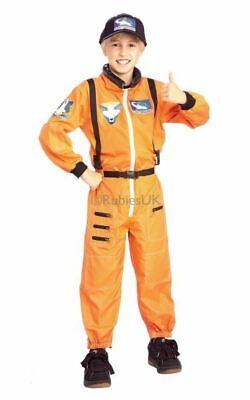 SALE! Kids Spaceman Suit NASA Astronaut Boys Fancy Dress Costume Party Outfit