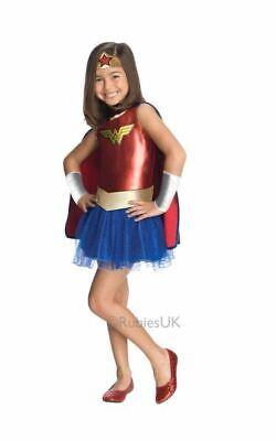 Wonder Woman Girls Costume Kids Marvel DC Comics - Wonder Woman Kids Outfit