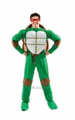 SALE! Adult 90s Mutant Ninja Turtles Mens Fancy Dress Stag Party Costume Outfit