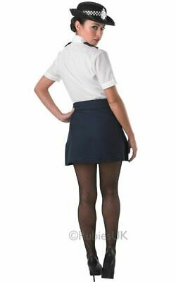 Policewoman Police officer WPC cop Womens Costume Ladies Fancy Dress outfit - Cop Womens Kostüm